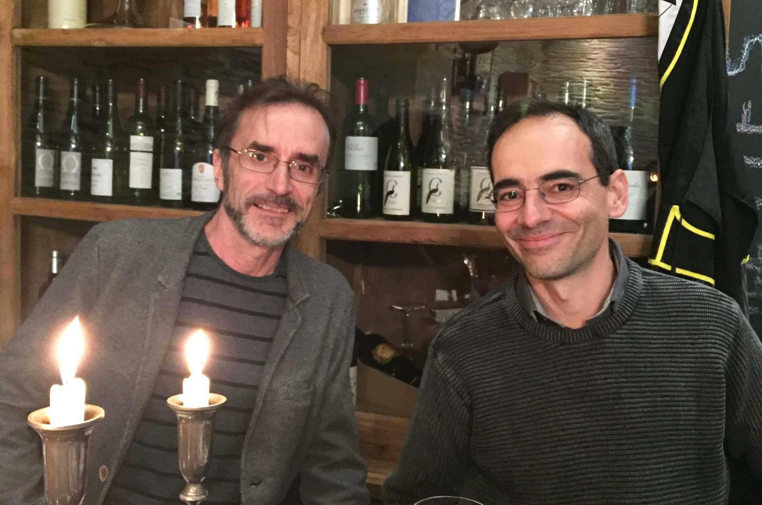 Pellejero et Canales avec Corto Maltese sous le soleil des bougies à Montpellier