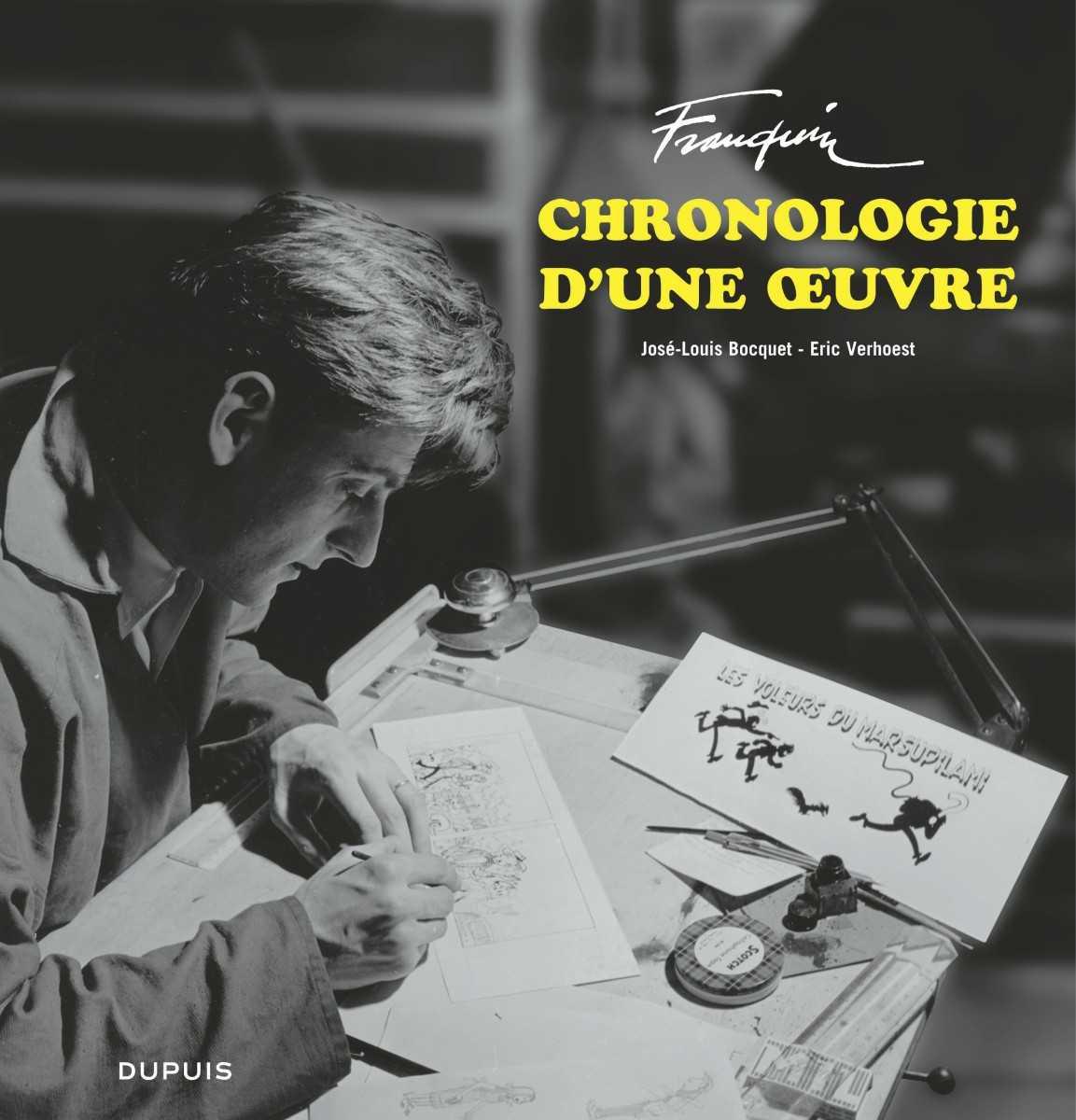 Franquin, chronologie d'une œuvre, voyage au pays d'un gentil génie