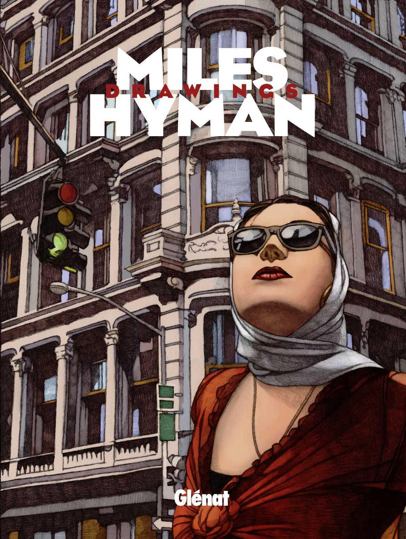 Miles Hyman drawings, un américain à Paris