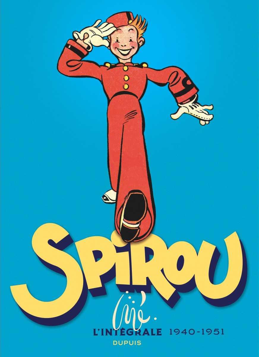 Spirou par Jijé, l'intégrale 1940-1951 chez Dupuis