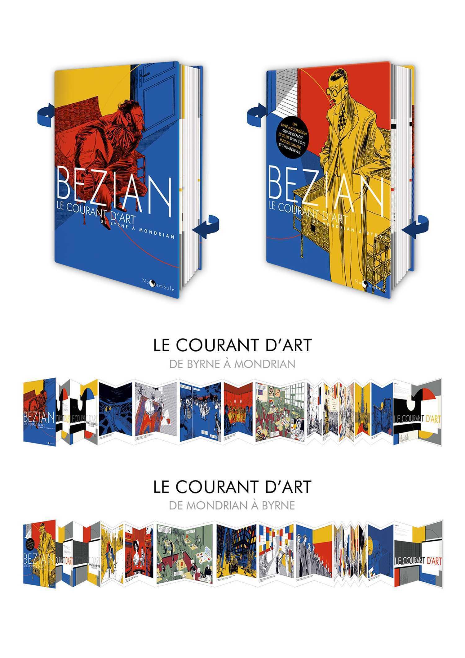 Le Courant d'Art, Bézian rassemble Byrne et Mondrian
