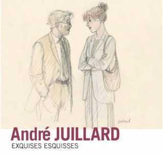 André Juillard s'expose à Bruxelles avec ses Exquises Esquisses