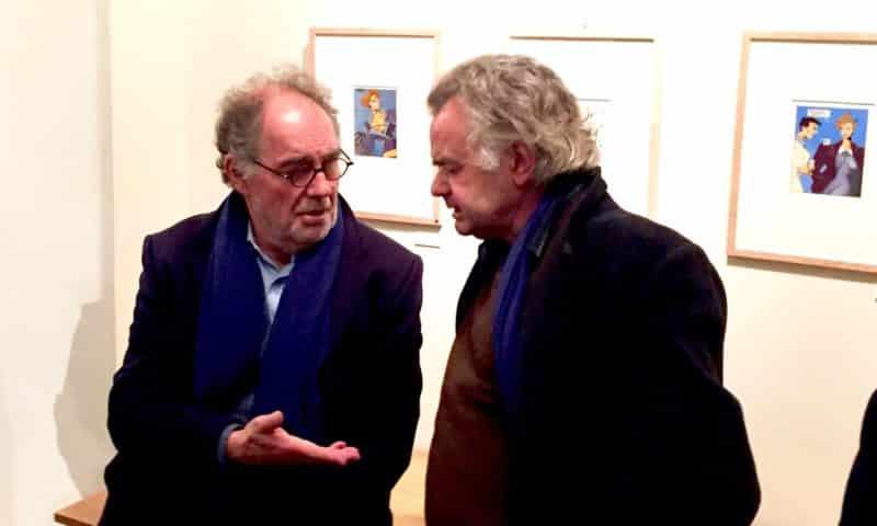 André Juillard et Jacques de Loustal