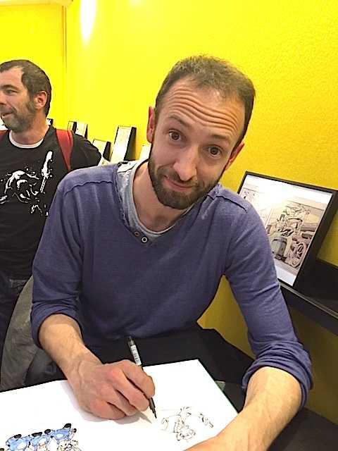 Interview de Paul Cauuet : «Mon dessin doit rendre Les Vieux Fourneaux encore plus drôle»