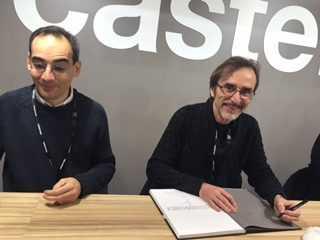 Rubén Pellejero et Juan Díaz Canales