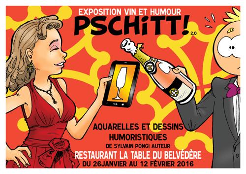Sylvain Pongi associe vin et humour pour son exposition à Toulouse