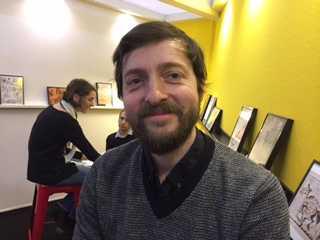 Festival d'Angoulême, galerie d'auteurs
