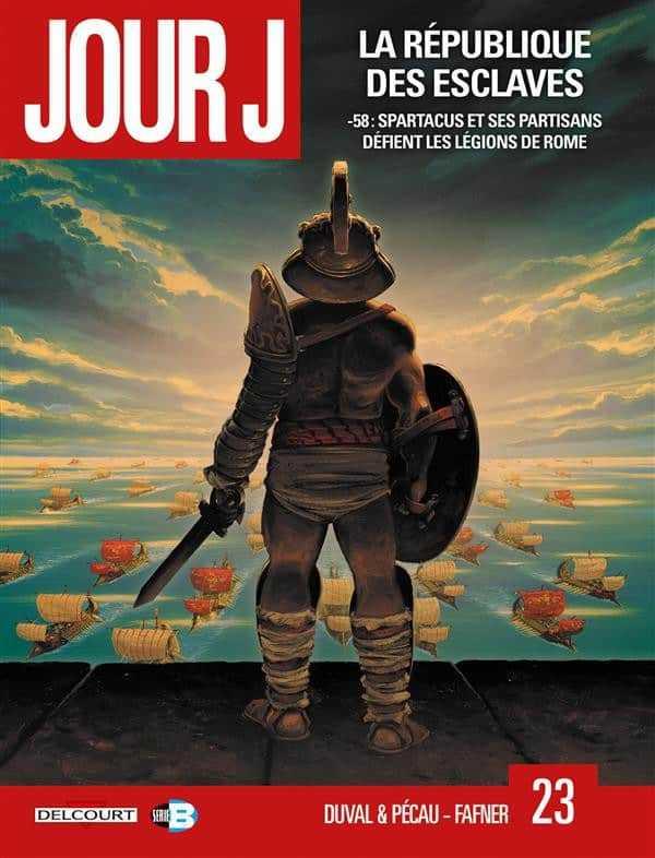Jour J tome 23, Spartacus président de la république de Sicile