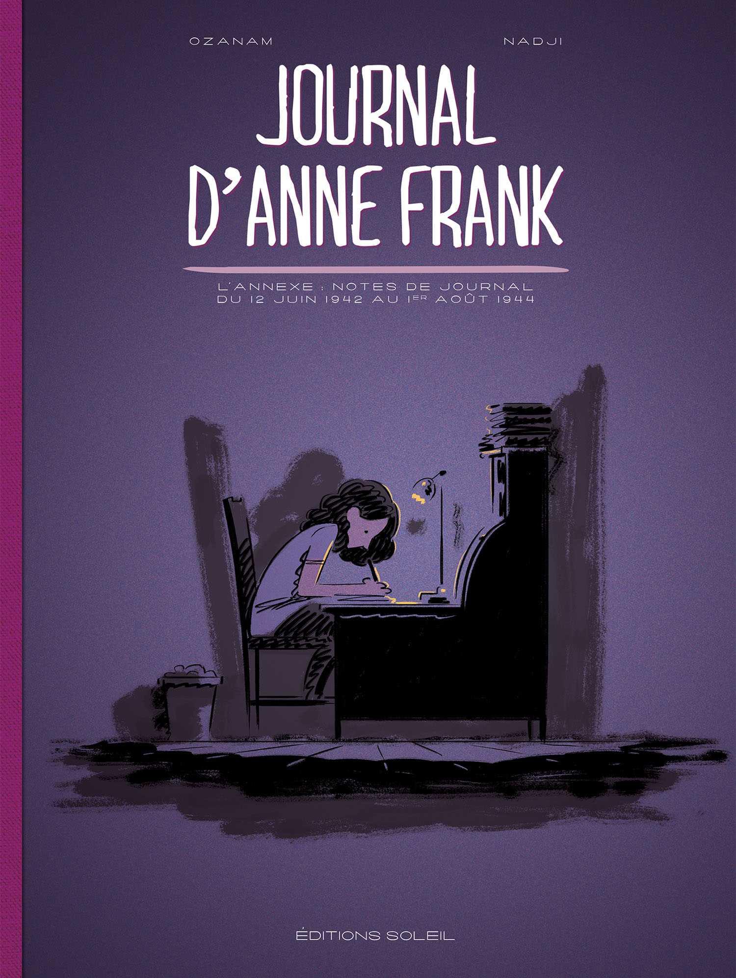 Le Journal d'Anne Frank, sa première adaptation en BD par Ozanam