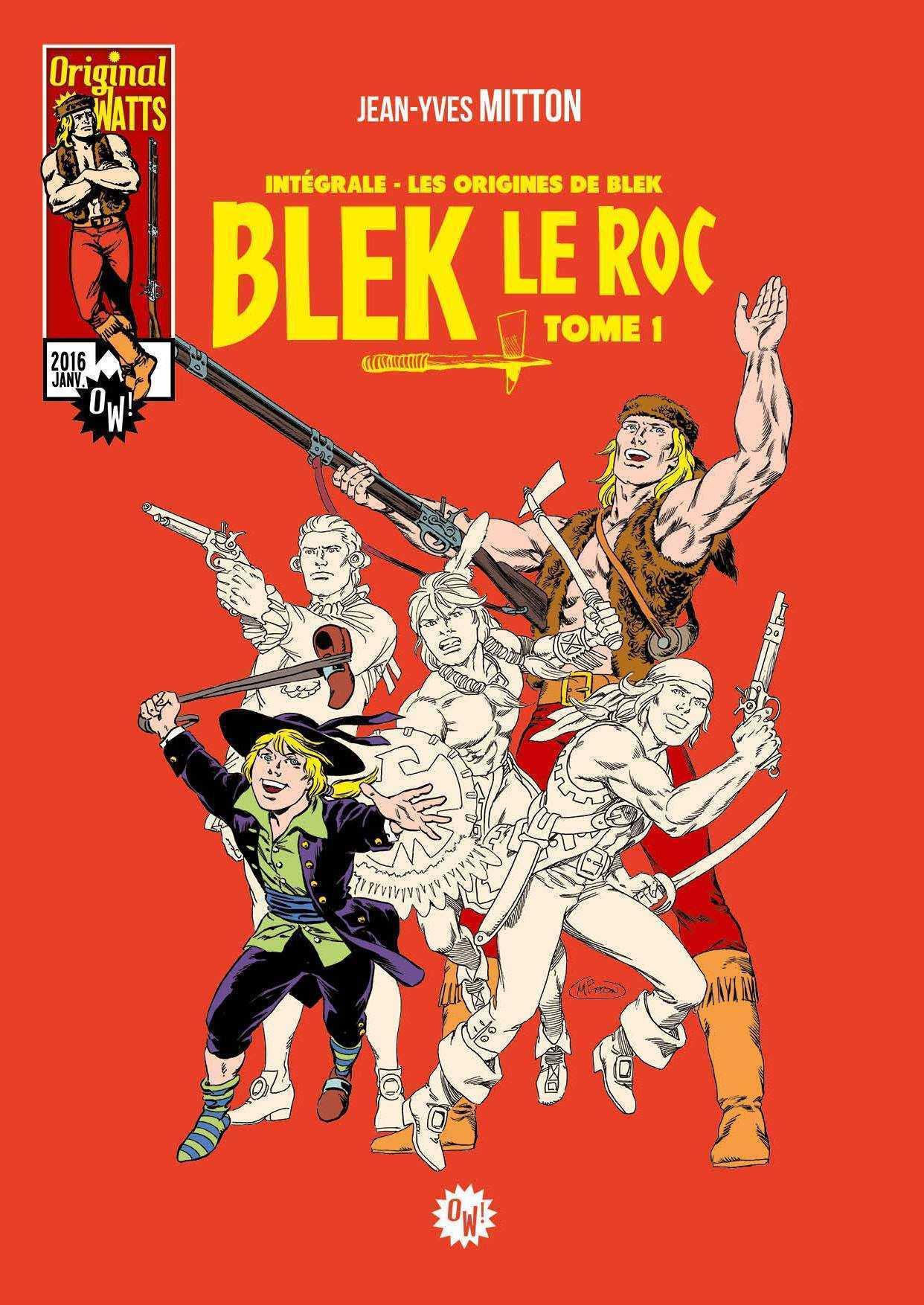 Blek le Roc, le retour du trappeur invincible
