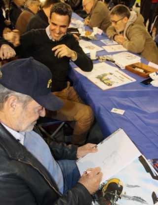 Aérobd à Istres, fans et auteurs de Bergèse à Jarbinet ou Maza et Arroyo étaient au rendez-vous