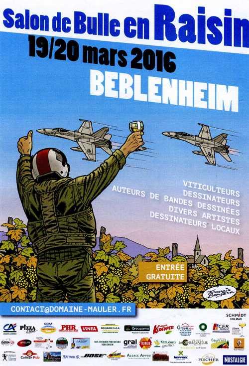 Salon de Bulle en raisin à Beblenheim les 19 et 20 mars