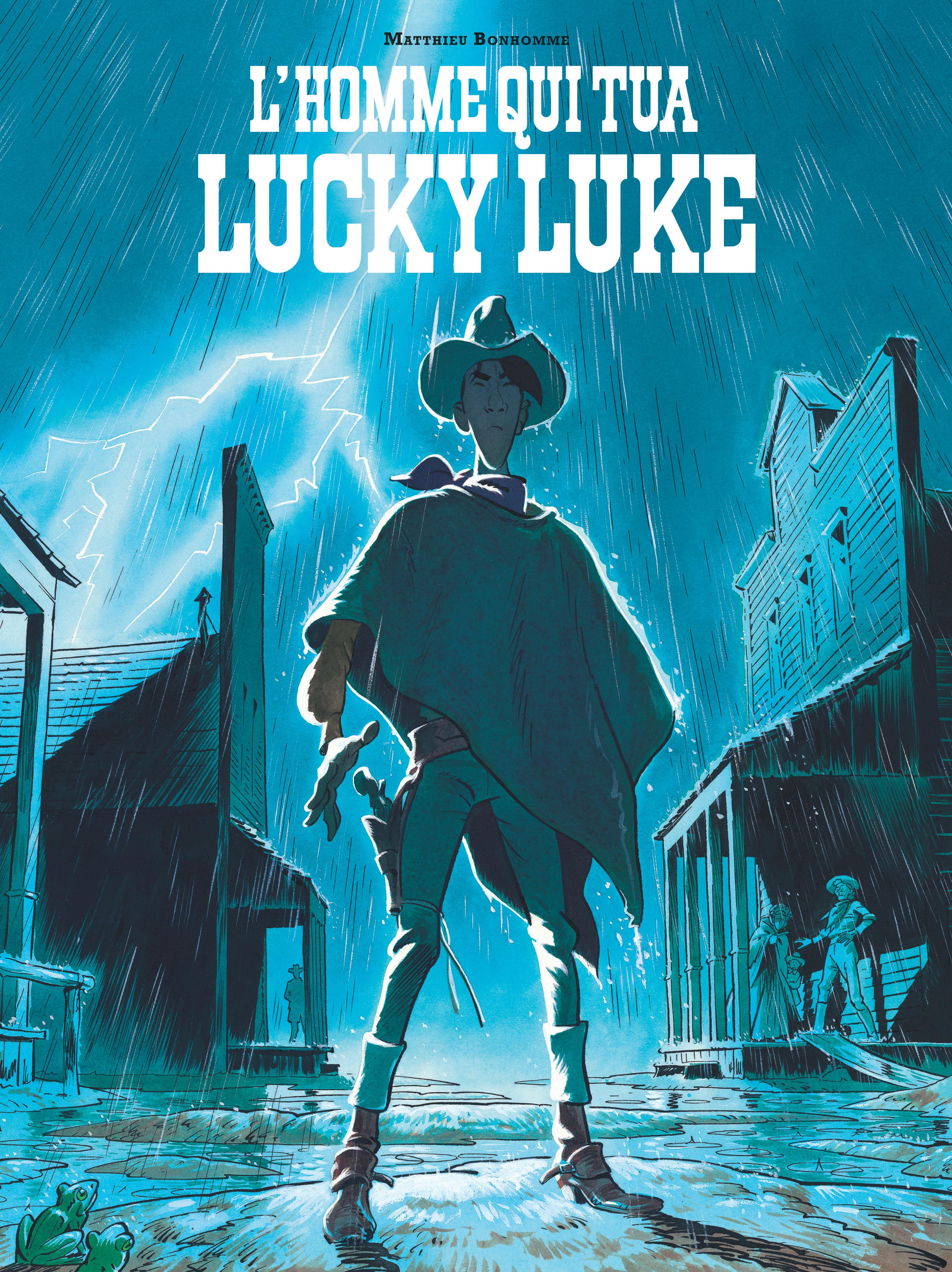 Interview : Matthieu Bonhomme a donné corps et âme à son Lucky Luke