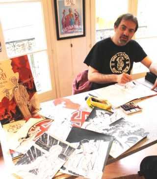 Pierre Alary était en dédicace chez Azimuts à Montpellier avec Silas Corey