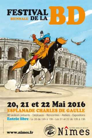 Festival biennale de la BD de Nîmes 2016