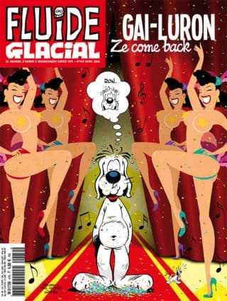 Fluide Glacial : Gai Luron, le retour avec Fabcaro et Pixel Vengeur