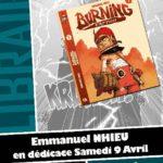 Emmanuel Nhieu en dédicace chez Planètes Interdites le 9 avril