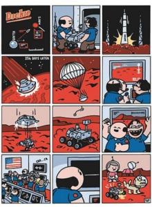 Dickie dans l'espace