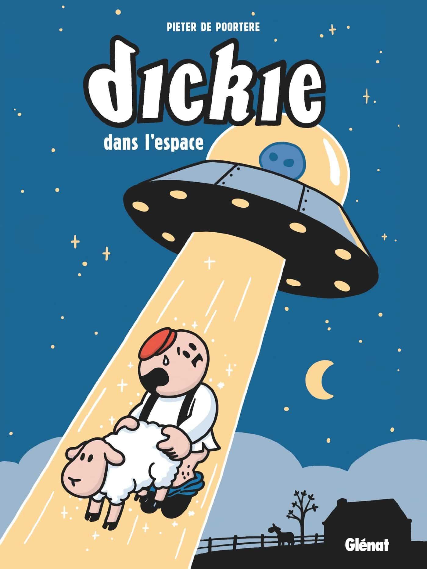 Dickie dans l'espace, on peut s'attendre à tout