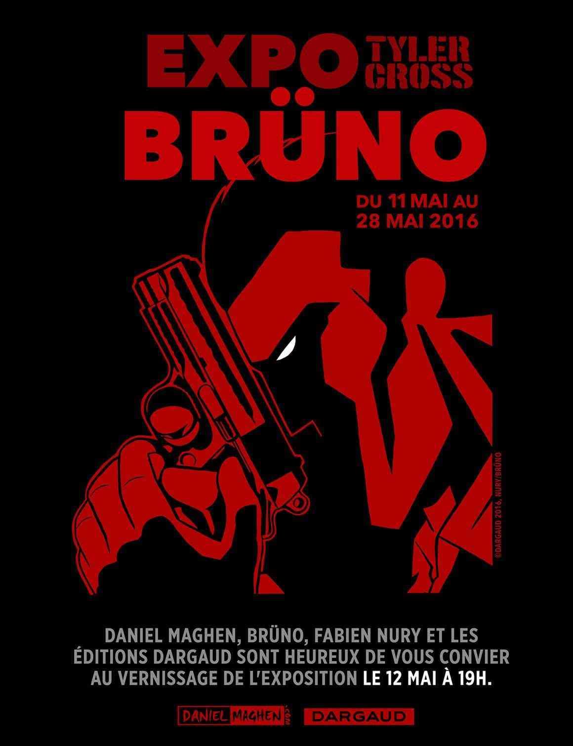 Brüno et Tyler Cross s'exposent chez Maghen à Paris