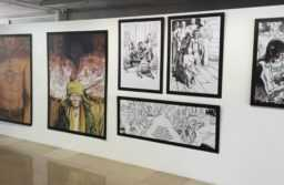 L'exposition Boucq à Carré d'Art.  JLT ®