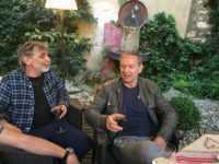 Edmond Baudoin et François Boucq à Nîmes. JLT ®