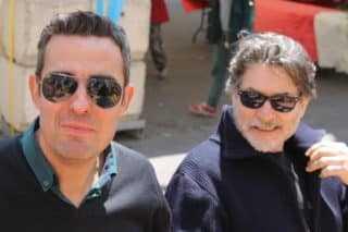 Jean-Michel Arroyo et Max Cabanes