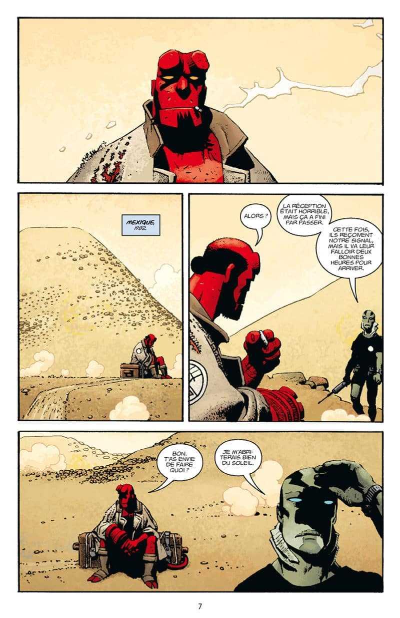 Hellboy au Mexique