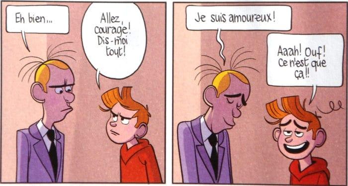 Le Spirou de Benoît Feroumont