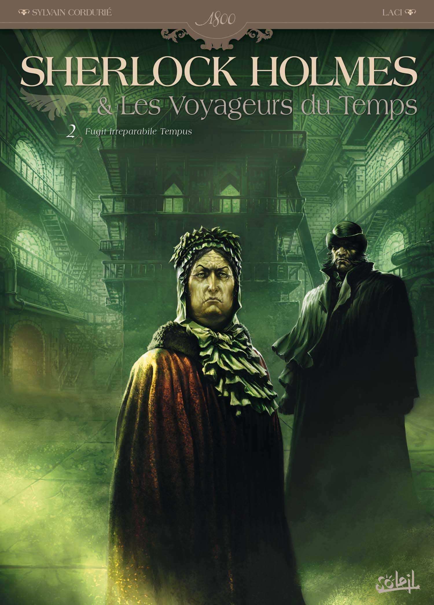 Sherlock Holmes et les voyageurs du temps T2, Victoria en danger