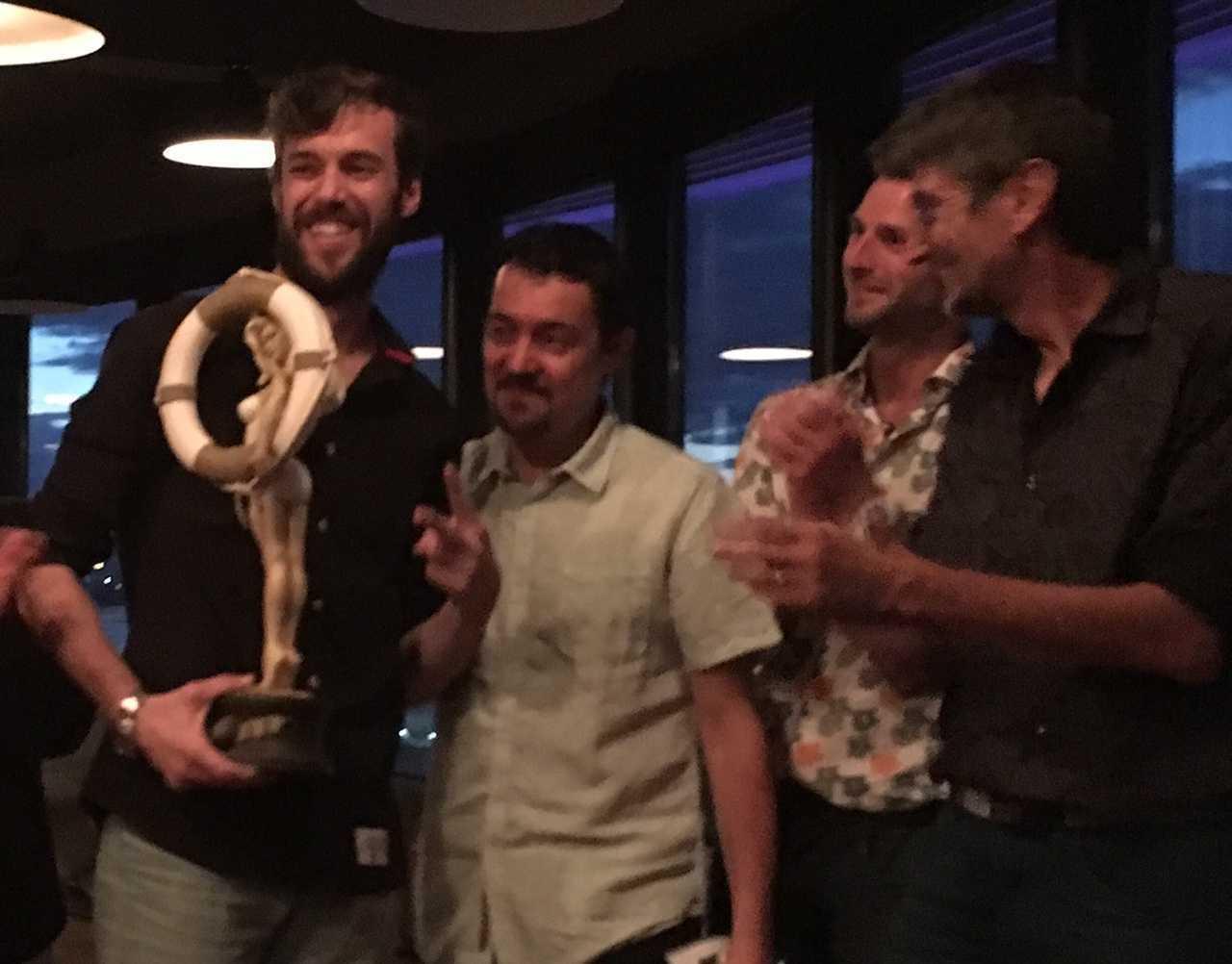 Alberto Alburquerque Grand Prix du Festival de Palavas 2016 pour Letter 44
