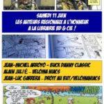 Trois auteurs régionaux en dédicace à Narbonne chez BD et Cie le 11 juin
