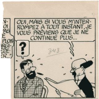 Tintin – Les 7 boules de cristal
