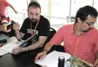 Raule et Jaime Calderon