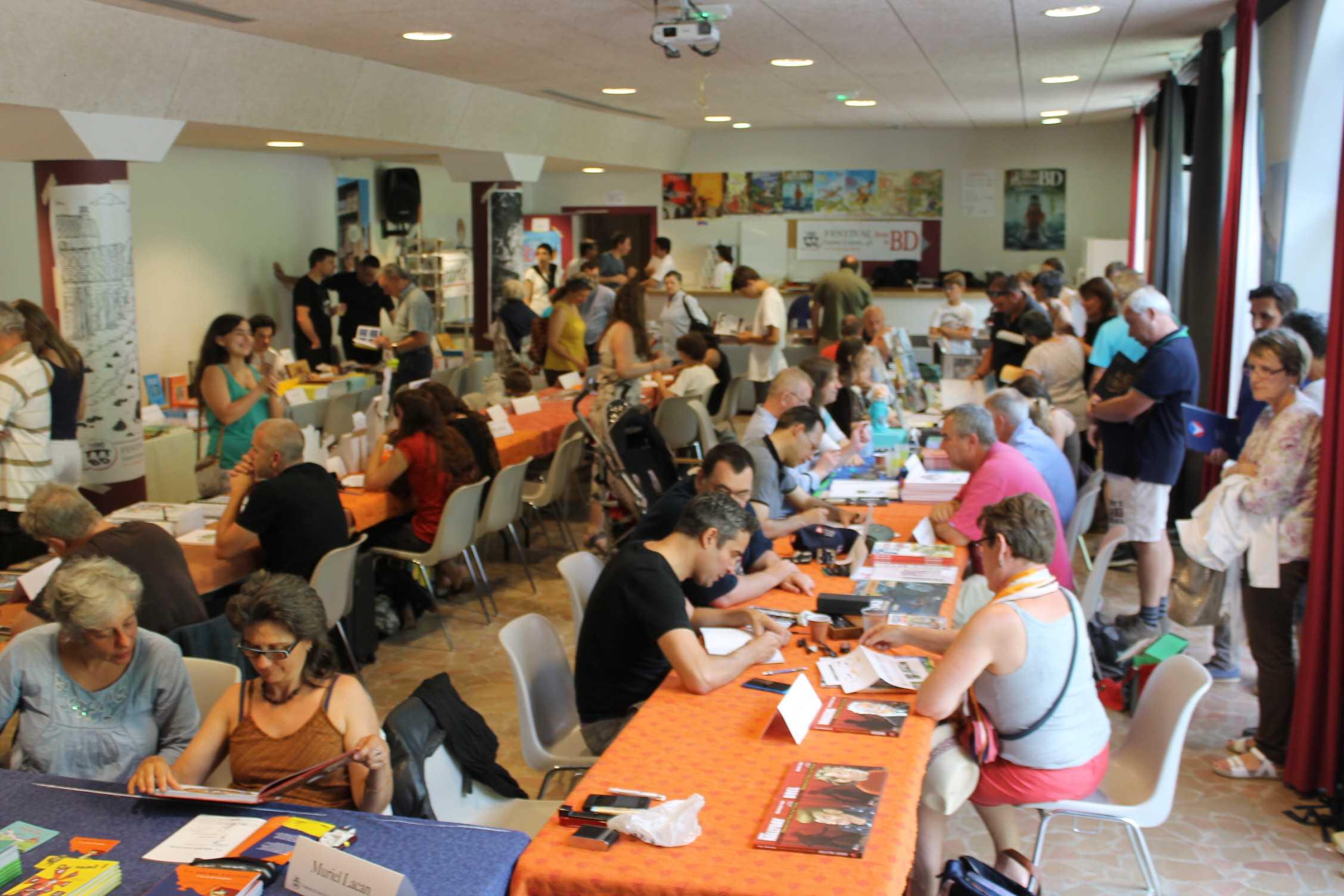 Sainte-Enimie 2016, éditeurs indépendants, auteurs et jeunesse avant le palmarès