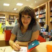 Karine Bernadou en dédicace chez Azimuts le 8 juillet à Montpellier