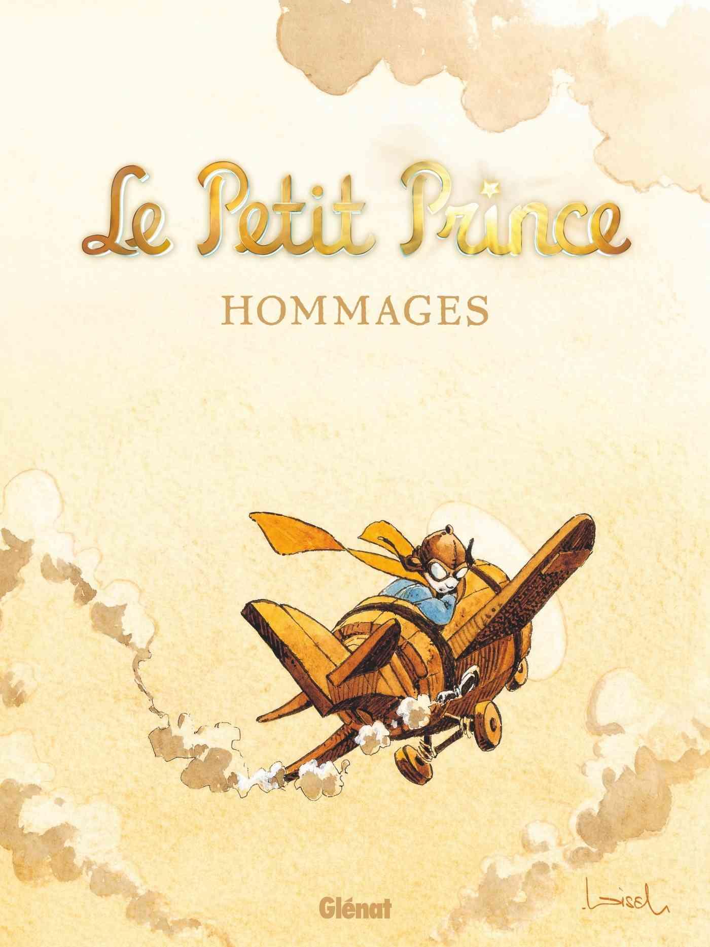 Le Petit Prince, des hommages chez Glénat pour Saint-Ex le dessinateur