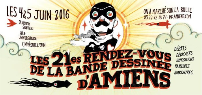 Les 21es rendez-vous de la bande dessinée d'Amiens