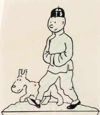 Tintin – Le Lotus bleu
