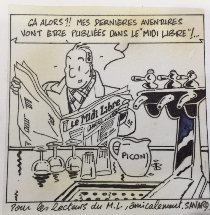 Dédicace de Didier Savard