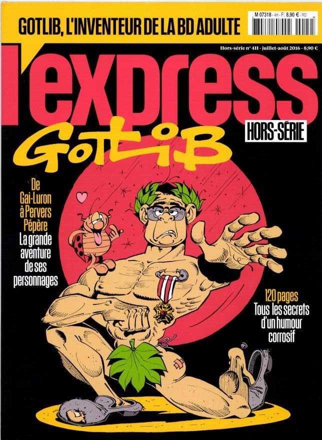 L'Express consacre un hors-série à Gotlib