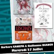 Barbara Canepa et Guillaume Bianco sont chez Planètes Interdites à Montpellier le mercredi 27 juillet