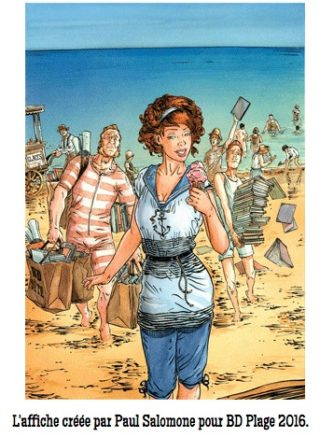 BD Plage et BD Illustration à Sète jusqu'au 28 août
