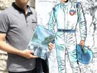 Marc Bourgne et Michel Vaillant à Sainte-Enimie . JLT ®