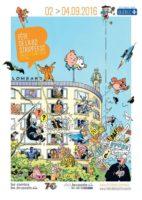 Fête de la BD à Bruxelles 2016, c'est du 2 au 4 septembre
