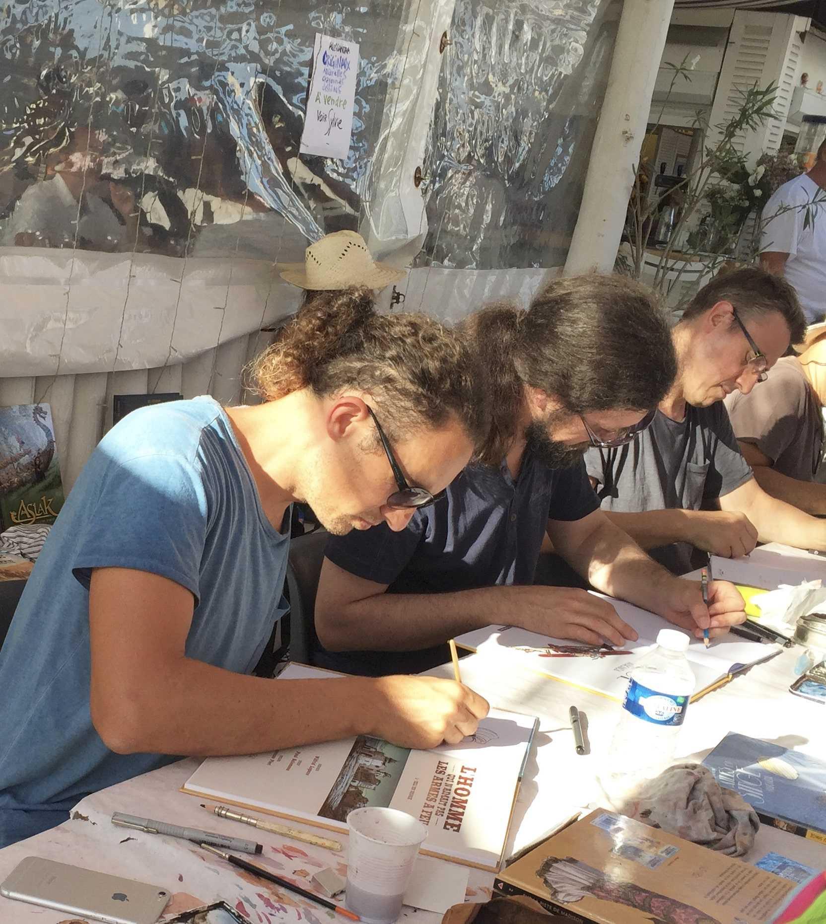 Paul Salomone chez La Bulle à Nîmes le 1er juillet