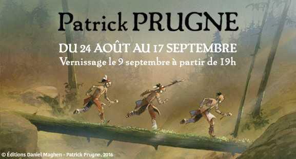 Chez Maghen à Paris, Patrick Prugne expose Iroquois
