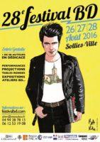 Festival BD de Solliès-Ville du 26 au 28 août et Baru invité d'honneur
