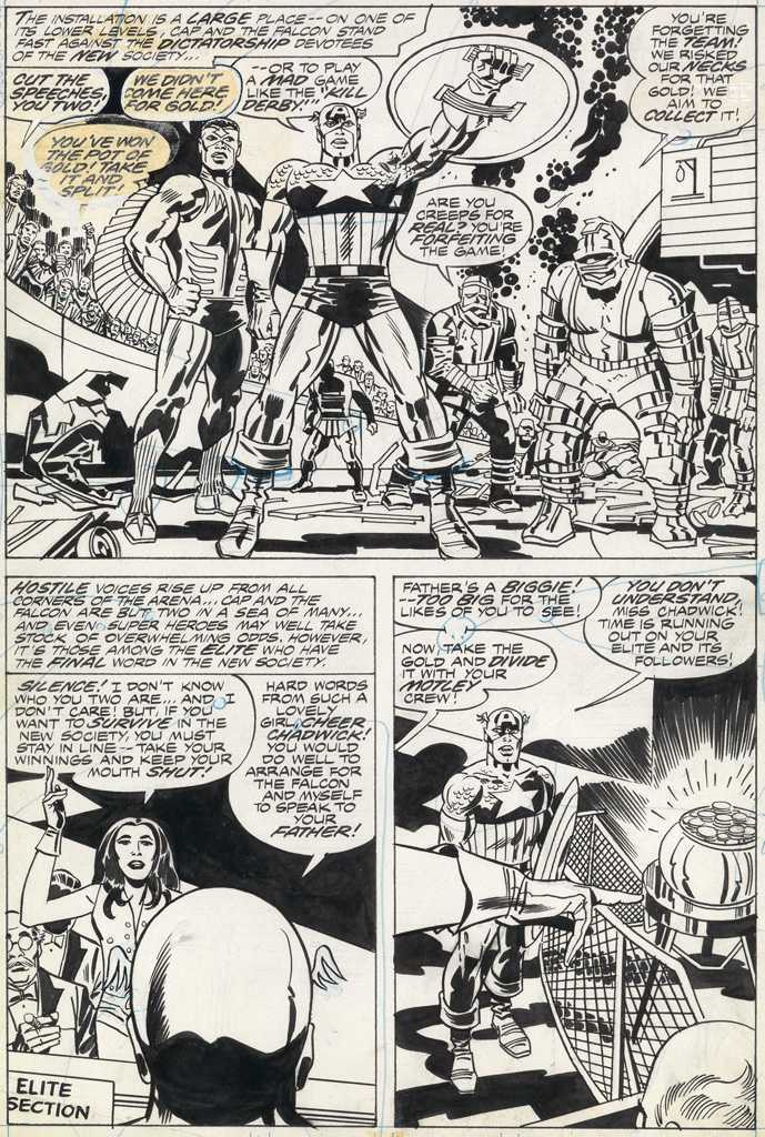 Captain America, deux planches en vente à New York le 29 septembre