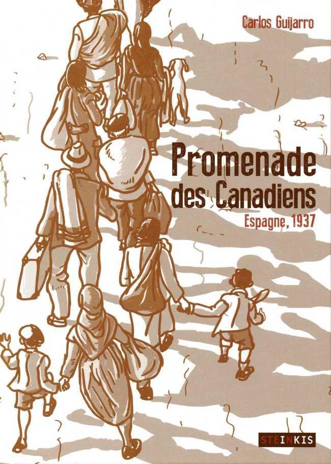 Promenades des Canadiens, le massacre de la débandade de Malaga